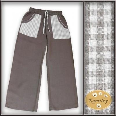 Lněné kalhoty: Pohodlí a originalita! (http://www.modablog.cz)