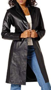 Dámský kožený kabát  Oblečte se do sexy kůže (http   www. 4b45dd0cd8e