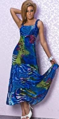Elegantní dlouhé letní šaty (http://www.modablog.cz)