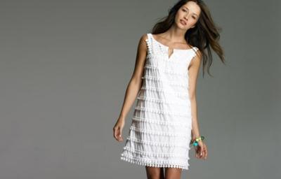 6e54e8e3da6 Bílé letní šaty  Buďte neodolatelná! (http   www.modablog.