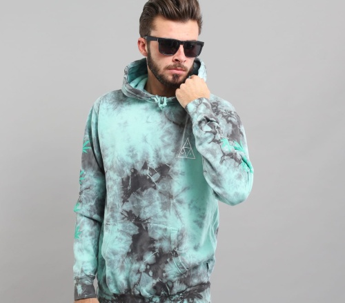 HUF Sweatshirt 420 Overdyed Plantlife